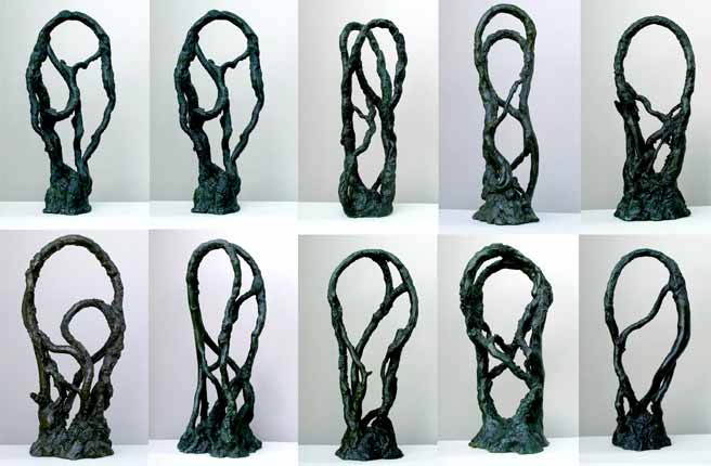 Peter Briggs sculptures